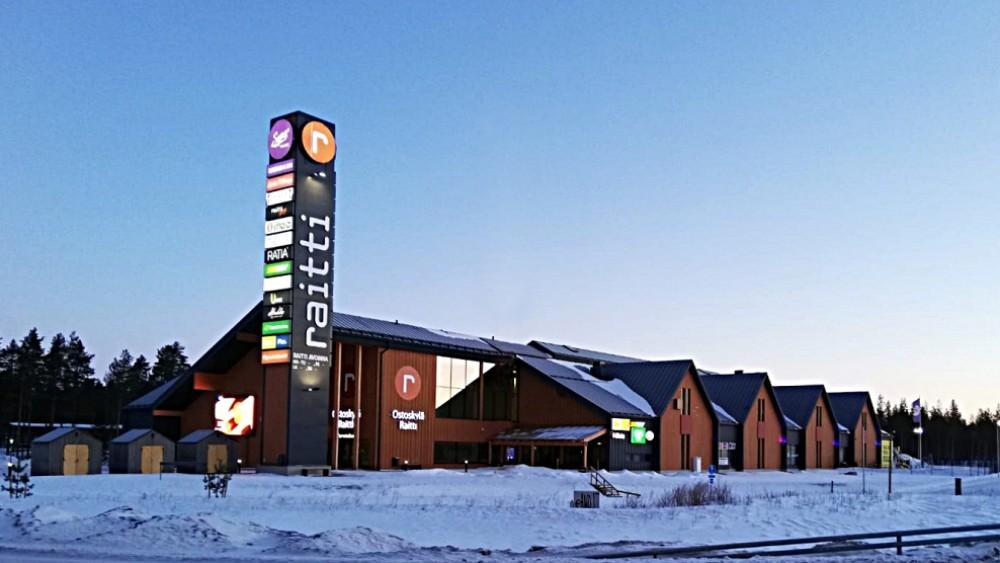 Ostoskylä Raitti
